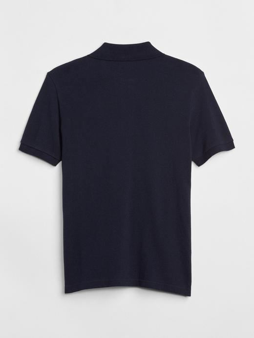 Kısa Kollu Polo Yaka T-Shirt