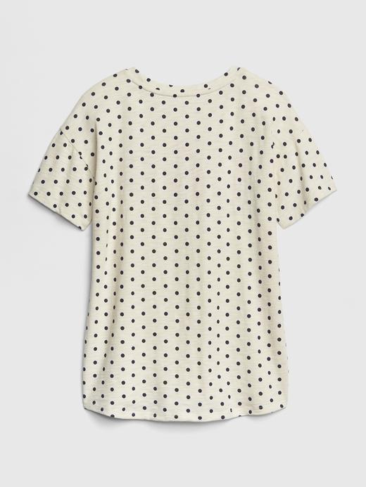 Kız Çocuk Pembe Gap Logo Kısa Kollu Tunik T-Shirt