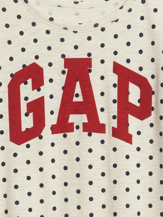 Gap Logo Kısa Kollu Tunik T-Shirt