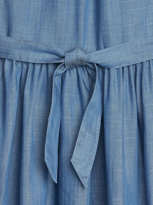 Tencel Kumaş Denim Elbise