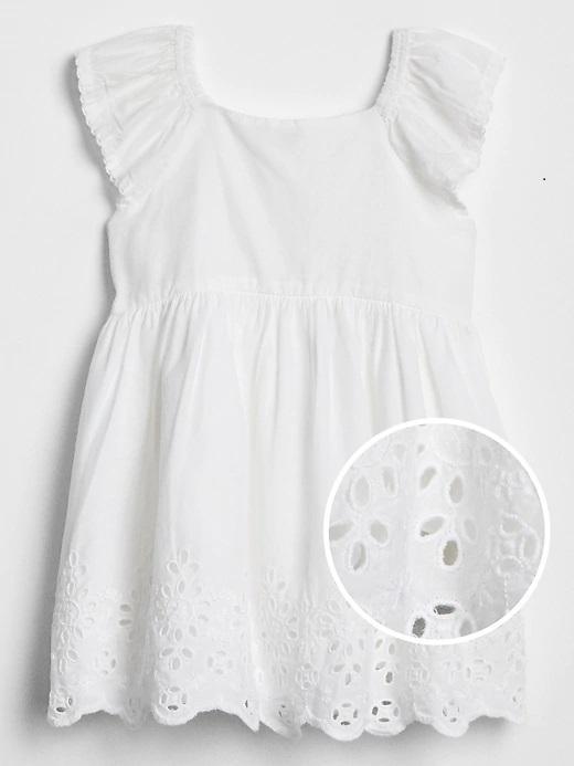 Bebek beyaz Elbise