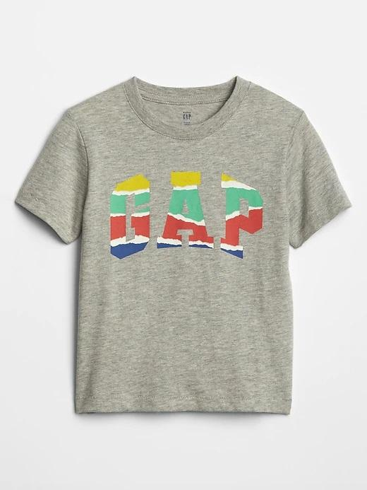 Erkek Bebek Logo Grafik T-Shirt