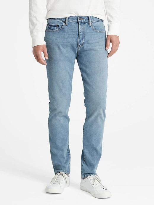 Erkek açık mavi GapFlex Skinny Jean