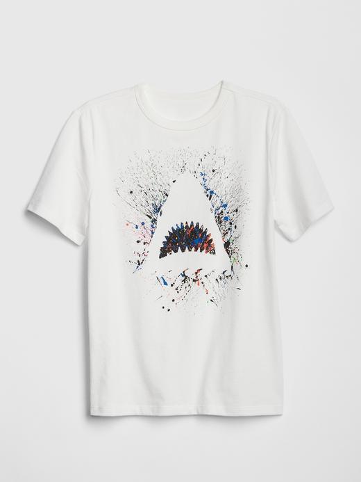 Erkek Çocuk Grafik Baskılı T-Shirt