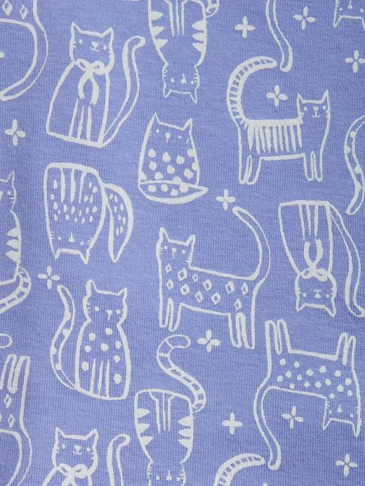 Bebek lila Pijama Takımı