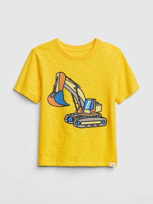 Bebek sarı Kısa Kollu T-shirt