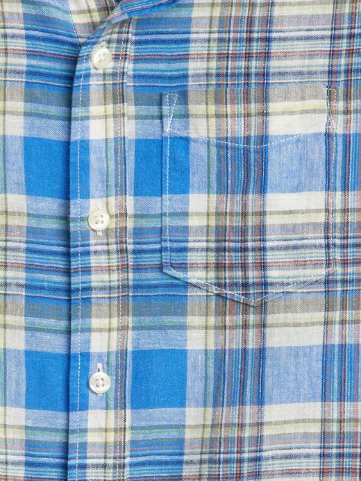 Kareli Uzun Kollu Gömlek