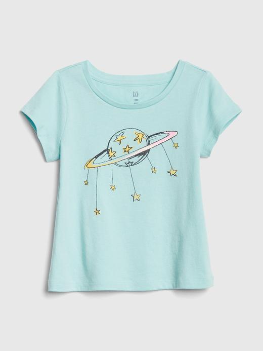 Kız Bebek Kısa Kollu T-shirt