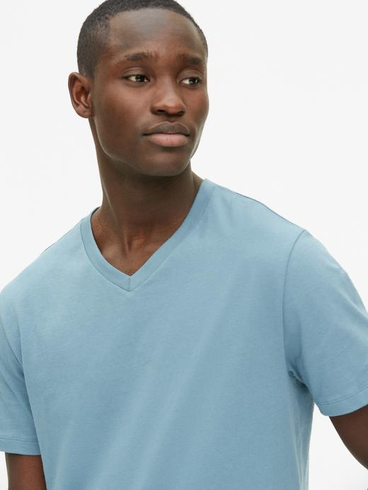 Erkek V Yaka T-shirt