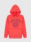 Erkek Çocuk açık kırmızı Kapüşonlu Sweatshirt
