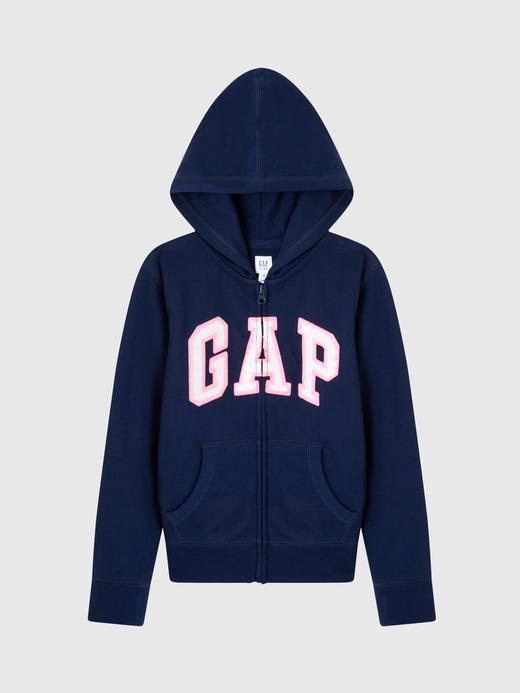 Kız Çocuk Gap Logo Kapüşonlu Sweatshirt