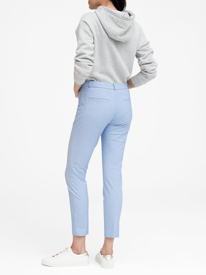 Kadın Mavi Sloan Skinny-Fit Denim Pant