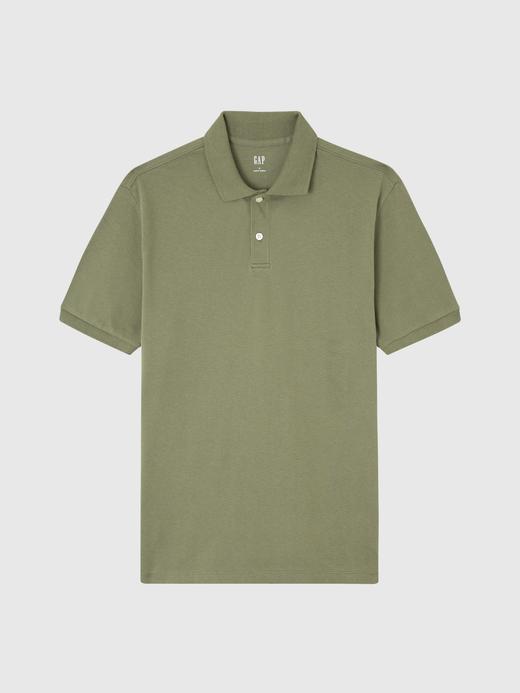 Kısa Kollu Pique Polo Yaka T-Shirt