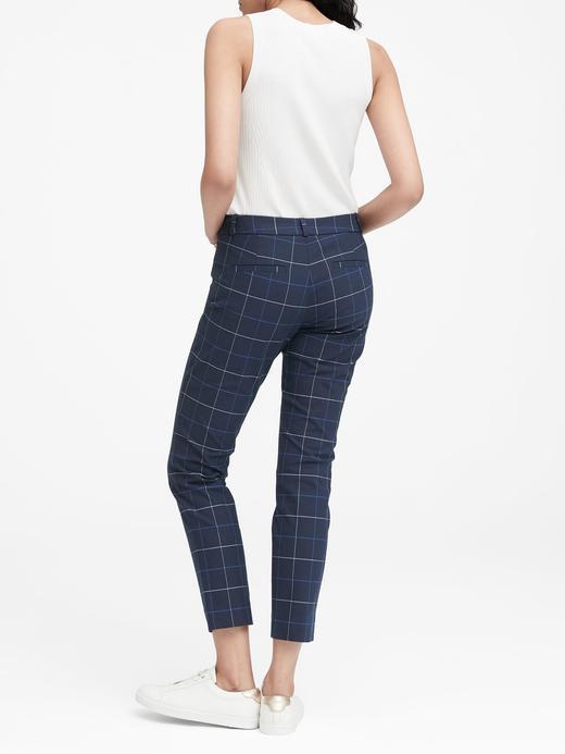 Sloan Skinny-Fit Ekose Pantolon