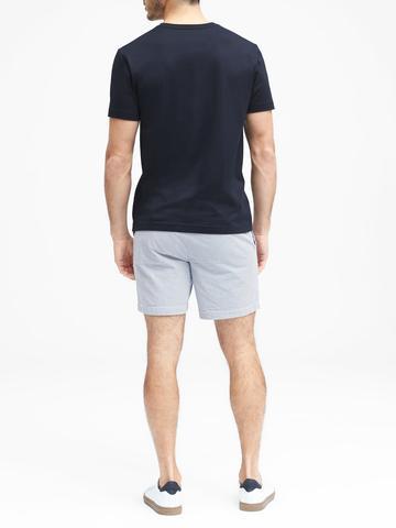 Erkek beyaz Authentic SUPIMA® V-Yaka T-Shirt