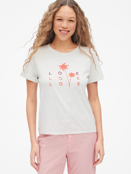 Forever Favorite Kısa Kollu Grafik T-shirt