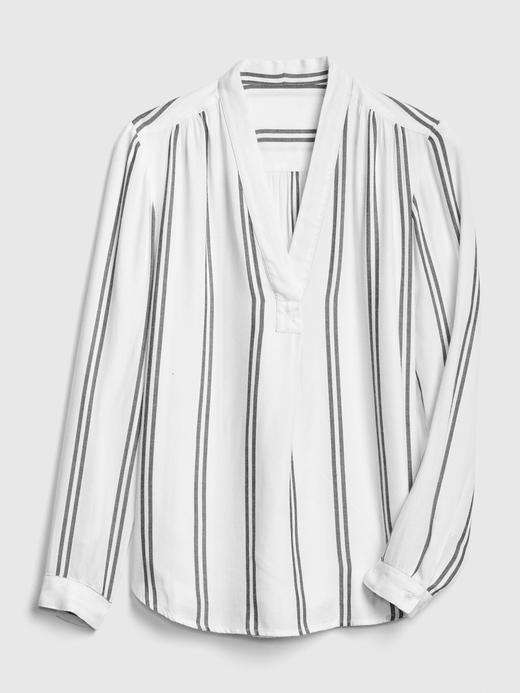 V-Yaka Tunik Gömlek