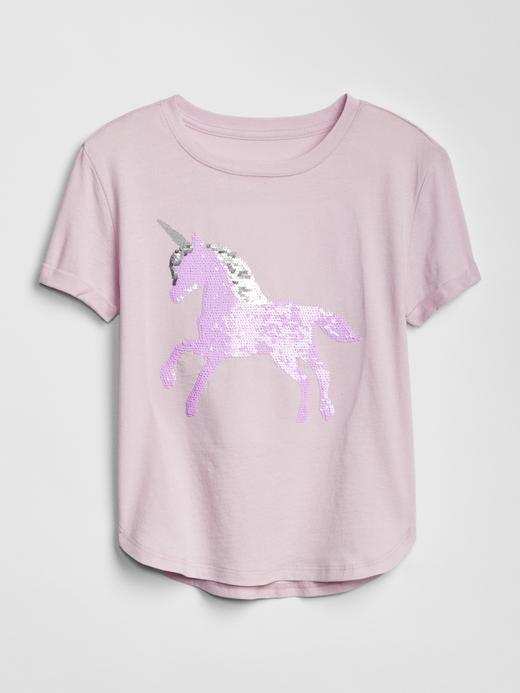 Pullu Grafik Baskılı T-Shirt