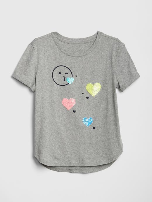 Kız Çocuk Pullu T-Shirt