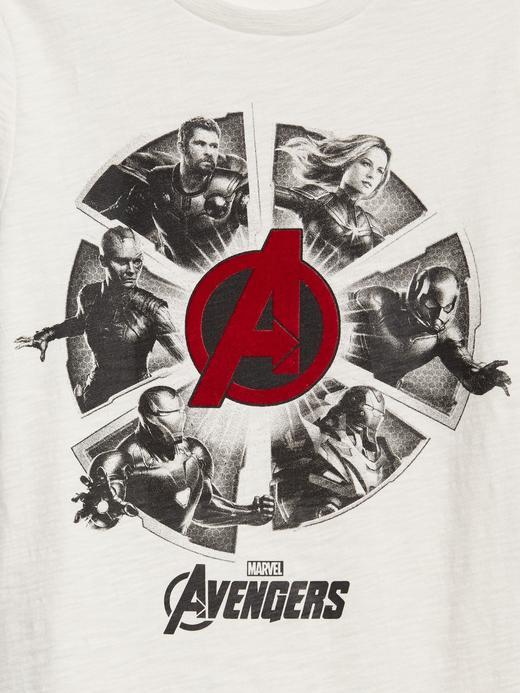 GapKids   Marvel Pullu Kısa Kollu T-Shirt