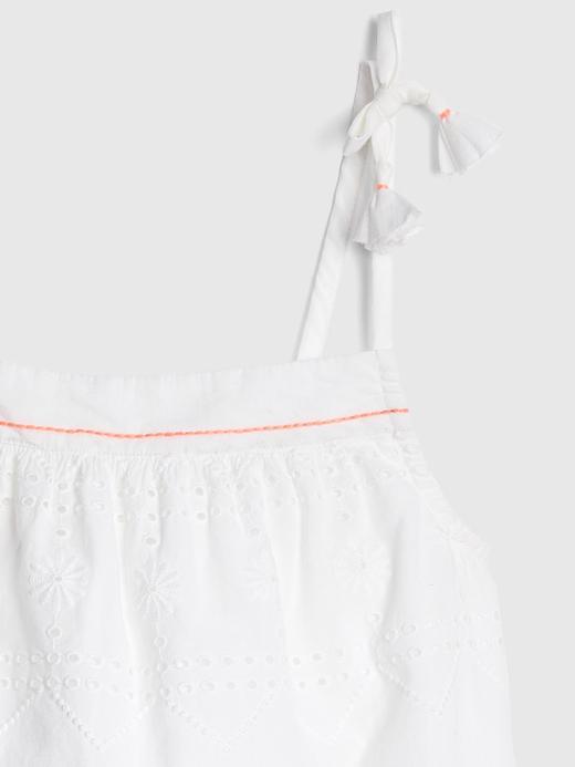Kız Çocuk İşlemeli Bluz