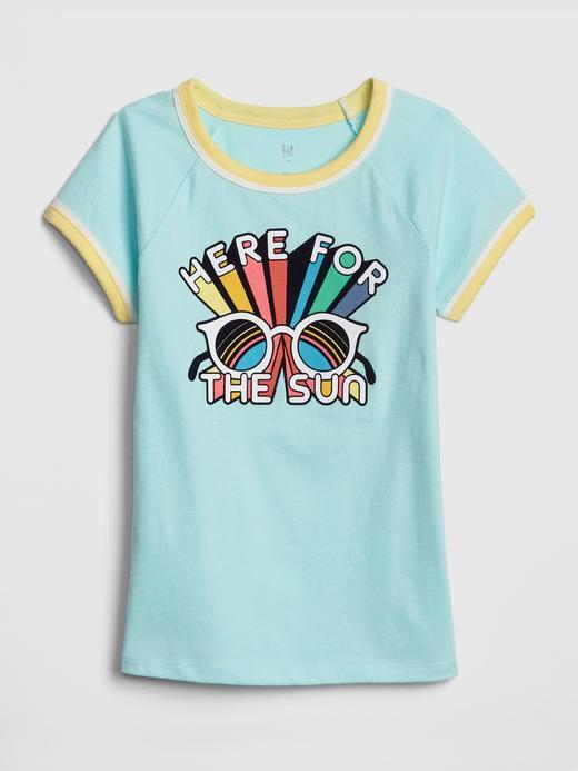 Grafik Baskılı T-Shirt