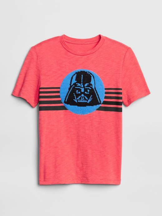 GapKids | Star Wars Pullu Kısa Kollu T-Shirt