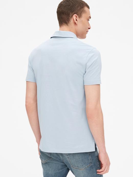 Erkek beyaz Vintage Polo T-Shirt