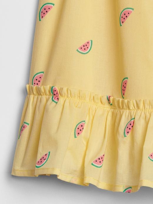 Karpuz Desenli Elbise