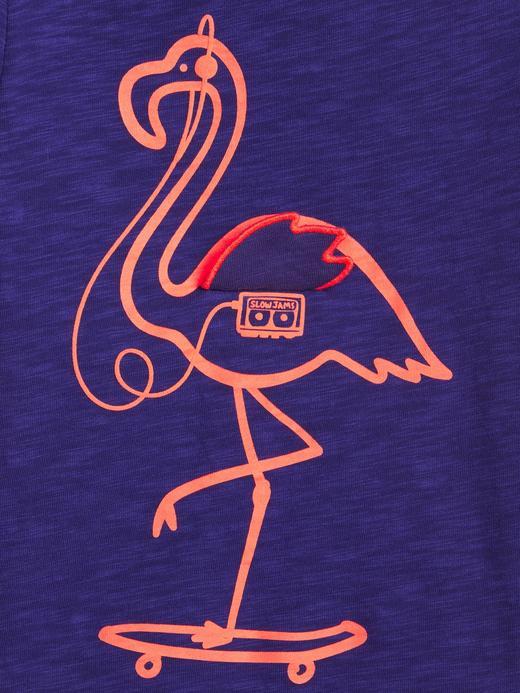 Erkek Bebek Grafik Kısa Kollu T-Shirt