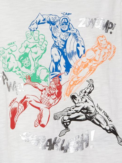 babyGap   Marvel© Grafik Kısa Kollu T-Shirt