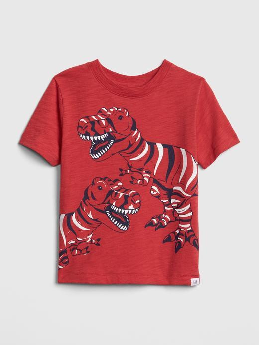 Grafik Kısa Kollu T-Shirt
