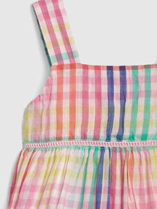 Ekoseli Kolsuz Elbise