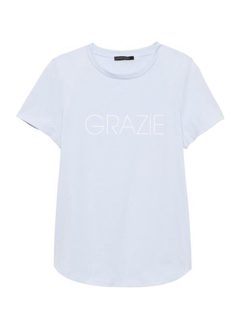 SUPIMA® Pamuklu Grafik T-Shirt