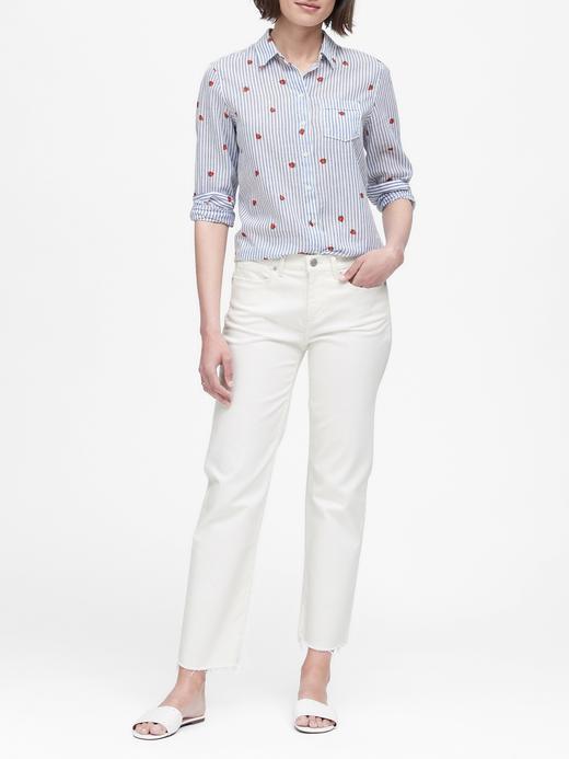 Quinn Straight-Fit Gömlek