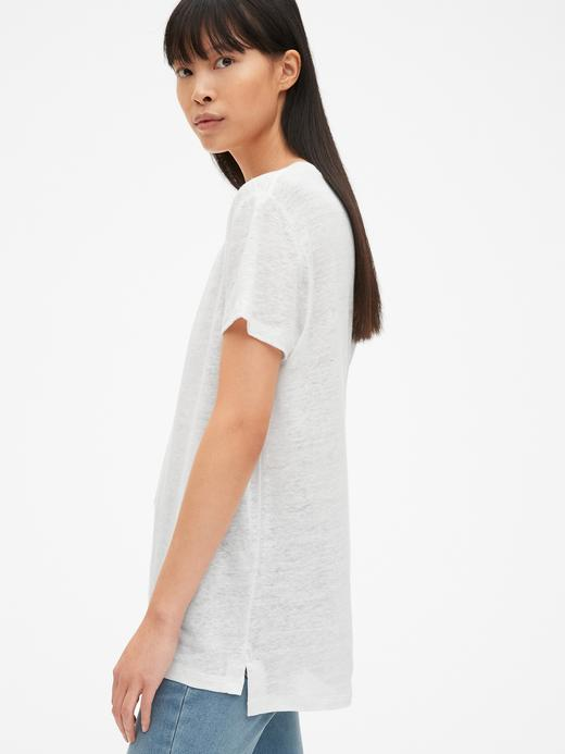 V-Yaka Keten T-Shirt