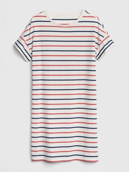 Kadın Vintage Yıkama T-Shirt elbise