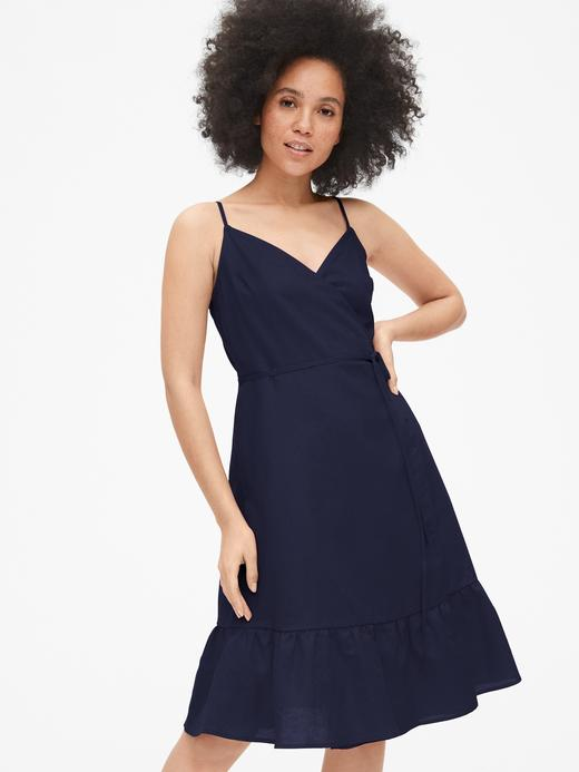 Kadın Keten-Pamuk Karışımı Elbise