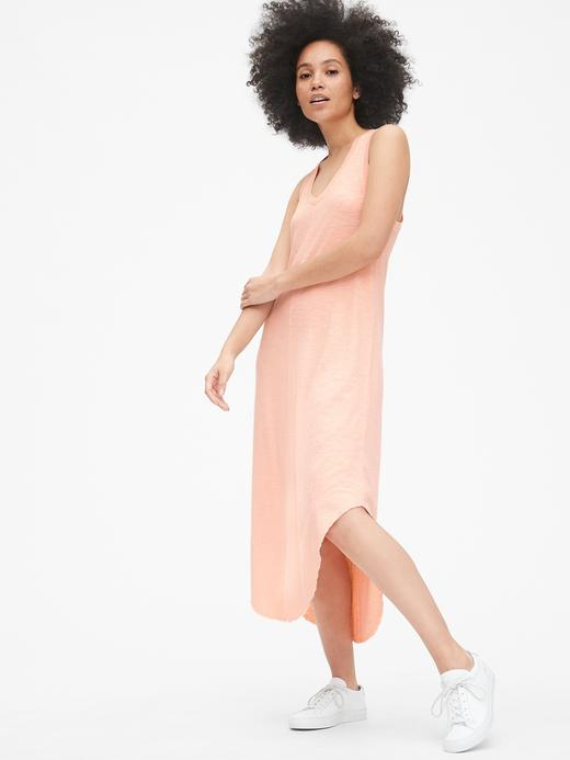 V-Yaka Midi Elbise