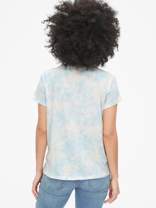 Gap Logo Tie-Dye Cepli T-Shirt