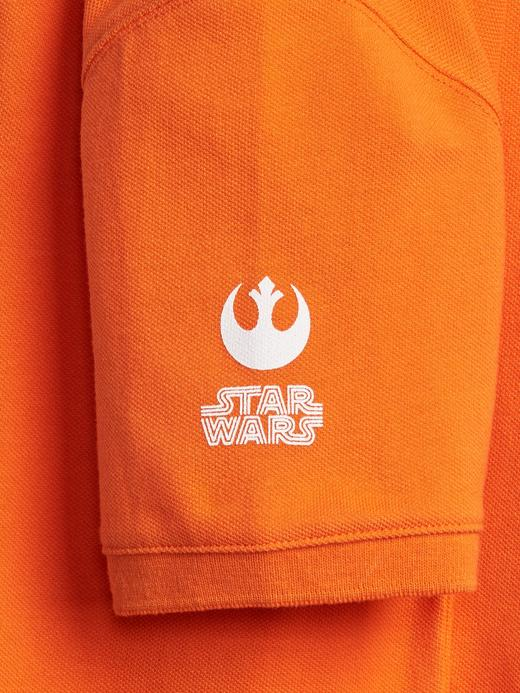 GapKids | Star Wars™ Kısa Kollu Polo T-Shirt