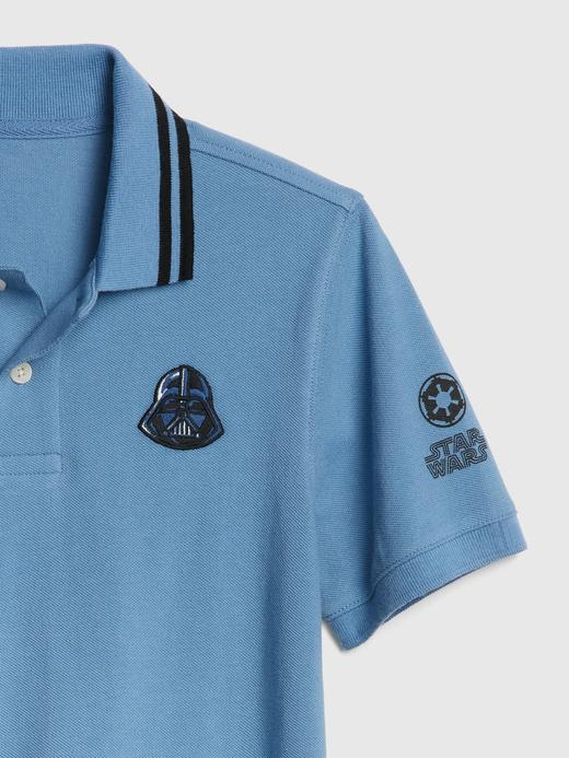 GapKids | Star Wars™ Kısa Kollu Polo T-Shirt