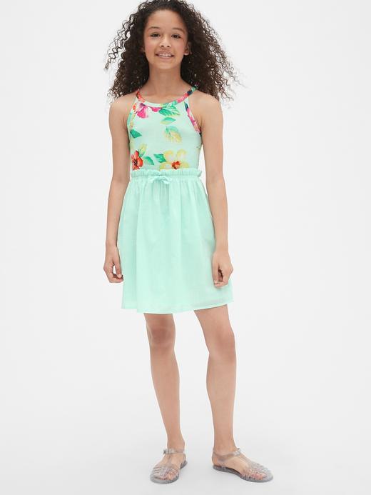 Kız Çocuk Halter Yaka Elbise