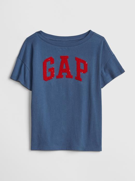 Pullu Kısa Kollu T-Shirt
