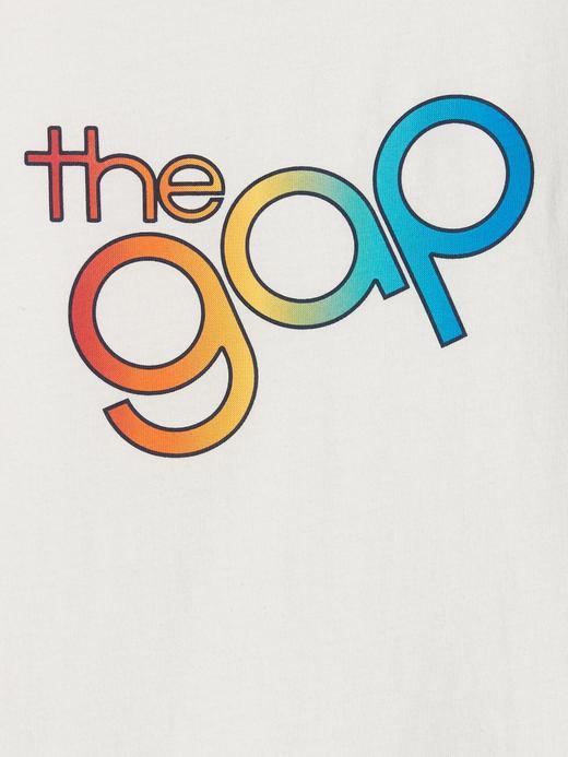 Kız Bebek Gap Logo Kısa Kollu T-Shirt