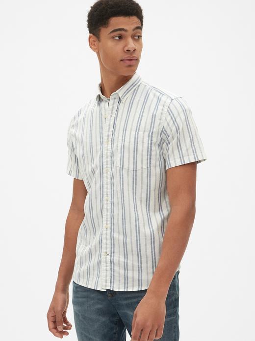 Oxford Kısa Kollu Gömlek