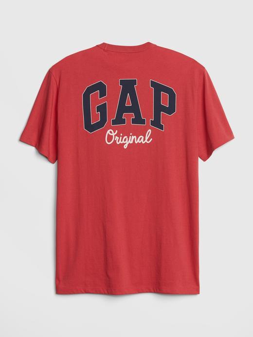 Erkek Yeşil Erkek Gap Original Logo T-Shirt