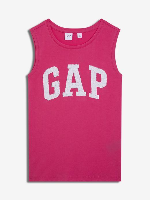 Kız Çocuk pembe Kız Çocuk Pullu Gap Logo Atlet