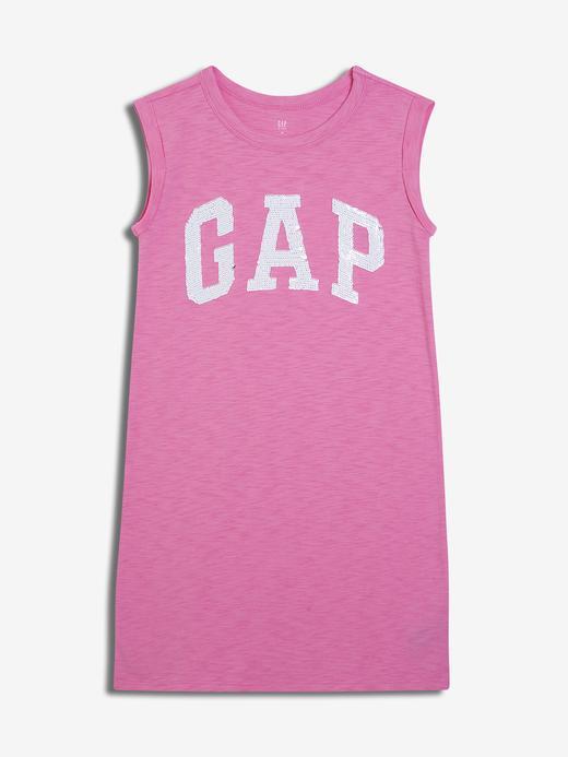 Pullu Gap Logo Elbise