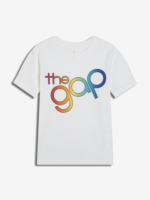 Erkek Bebek Gap Logo Kısa Kollu T-Shirt